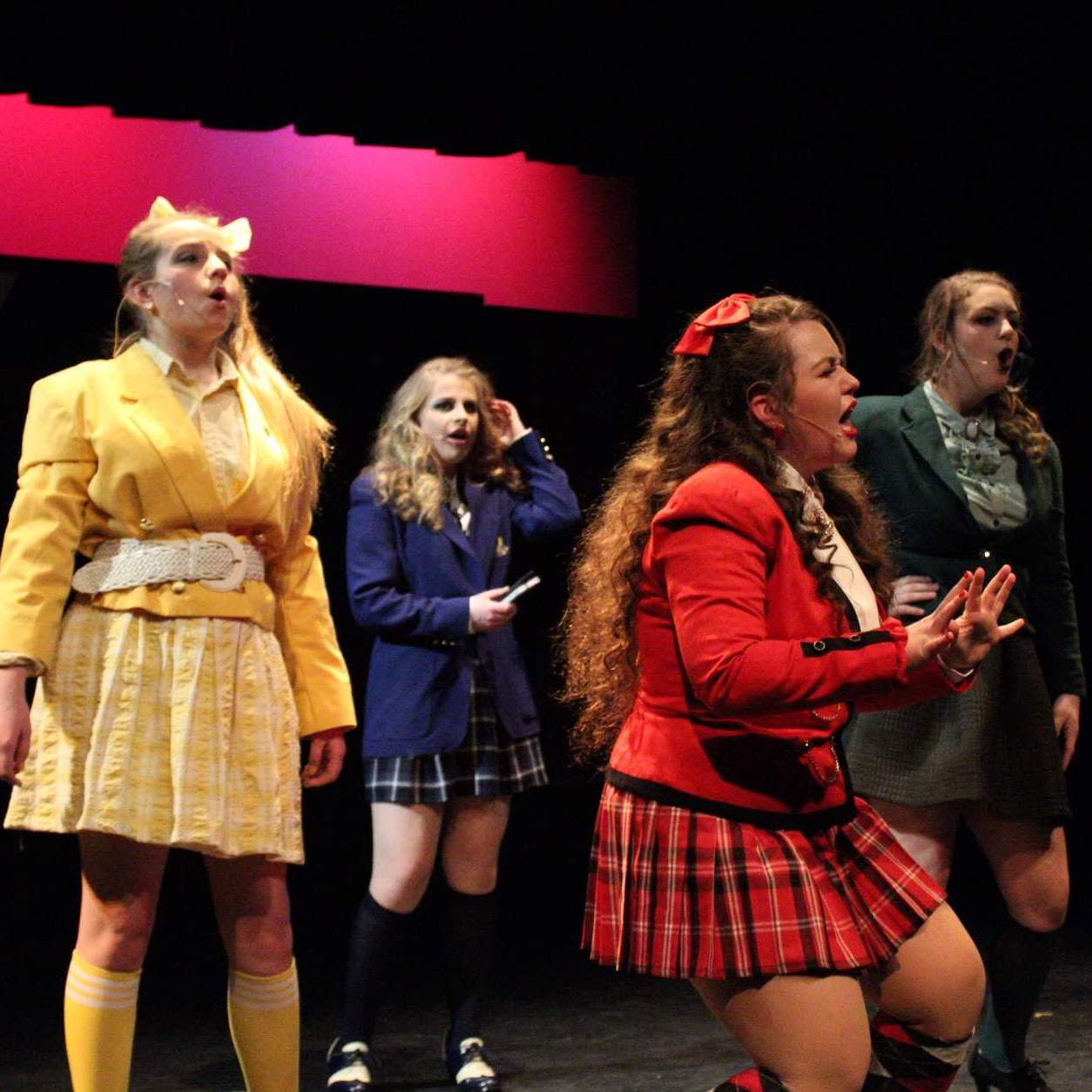 Sarah Enzminger's costume design for the theater production of Heathers